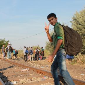 Palabras de los refugiados en lafrontera
