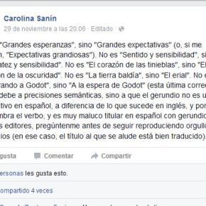 ¿En qué se parecen Aleida, Carolina Sanín y ÁlvaroUribe?