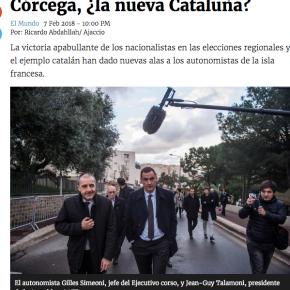Córcega: ¿La nuevaCataluña?